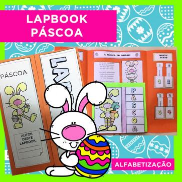 Lapbook PÁSCOA - Alfabetização