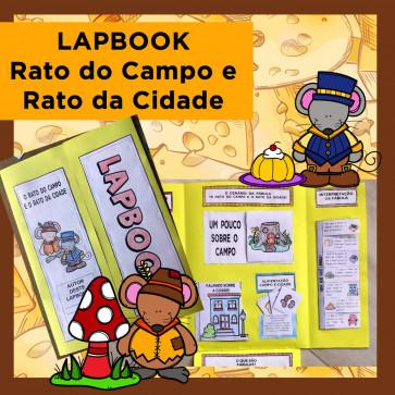 Lapbook RATO DO CAMPO E RATO DA CIDADE