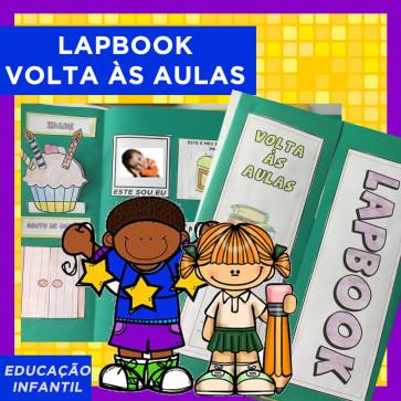 Lapbook VOLTA ÀS AULAS - Ed. Infantil