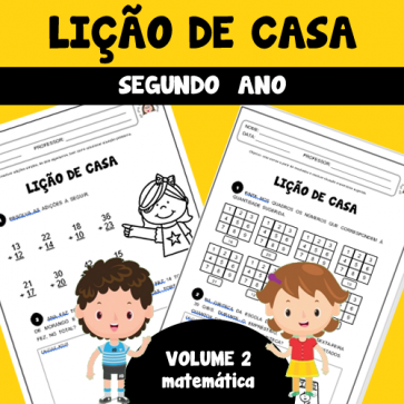 Lição de casa - 2º ano - Volume 2