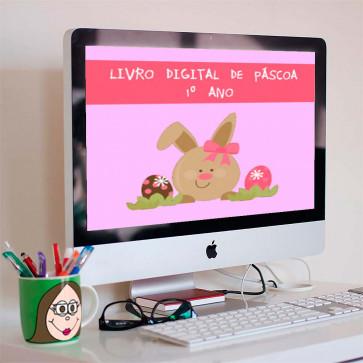 Livro digital de Páscoa para 1º ano