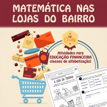 Matemática nas lojas do bairro