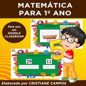 Matemática para Primeiro Ano - Google Classroom