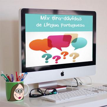 Mix de tira-dúvidas - Língua Portuguesa