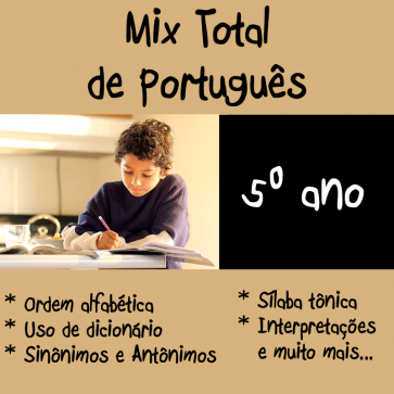 Mix Total - Português - Quinto Ano