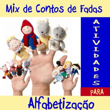 Mix de Contos de Fadas - Atividades de Alfabetização