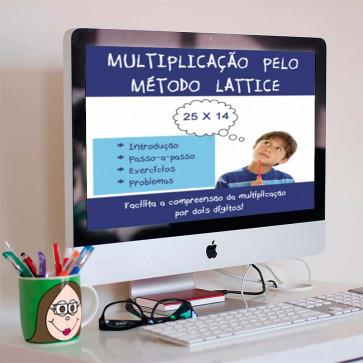 Multiplicação - Método Lattice
