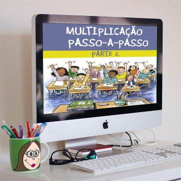 Multiplicação passo-a-passo - pacote 2