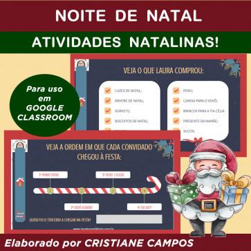 NOITE DE NATAL - para Google Classroom