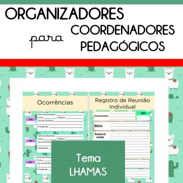 Organizadores para Coordenadores - tema LHAMAS