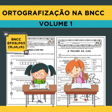 Ortografização na BNCC - Volume 1