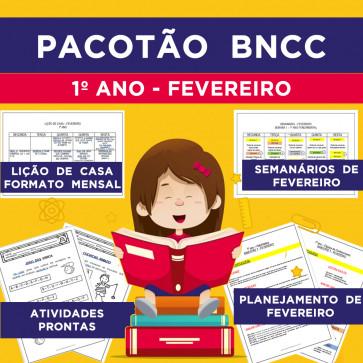 Pacotão BNCC - FEVEREIRO - 1º ANO