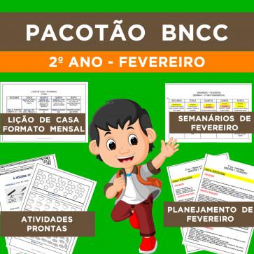 Pacotão FEVEREIRO - BNCC - 2º ano