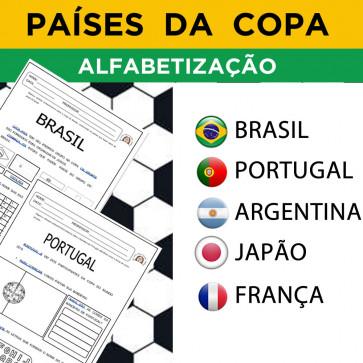 Países da Copa - Alfabetização