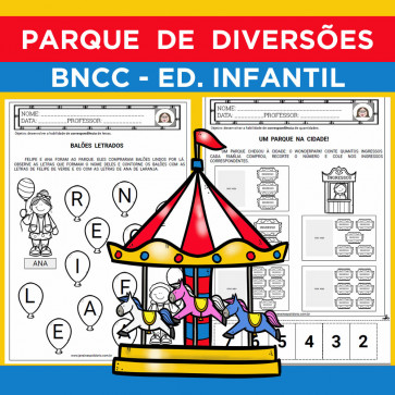 Parque de Diversões - Ed. Infantil