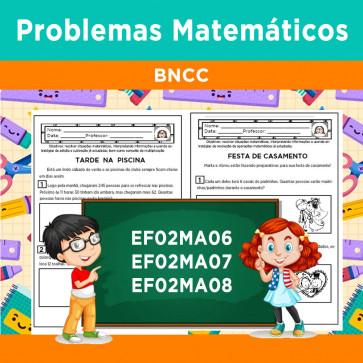 Problemas Matemáticos - BNCC - Segundo Ano
