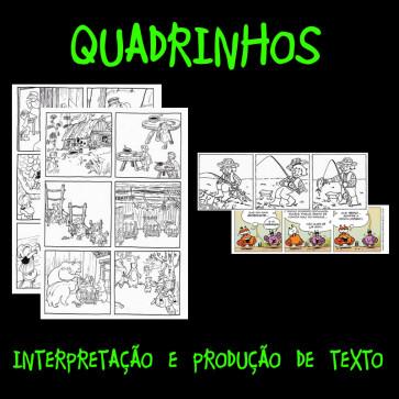 Quadrinhos - interpretação e produção de texto