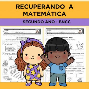 Recuperando a Matemática - segundo ano - BNCC