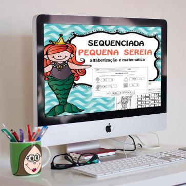 """Sequenciada """"A Pequena Sereia"""""""