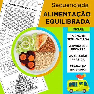 Sequenciada ALIMENTAÇÃO EQUILIBRADA