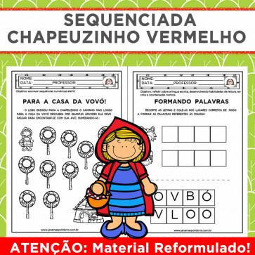 Sequenciada CHAPEUZINHO VERMELHO