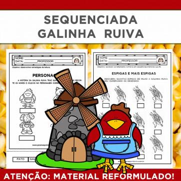 Sequenciada - A Galinha Ruiva