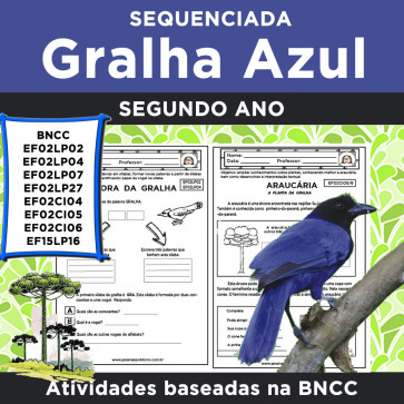 Sequenciada GRALHA AZUL