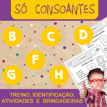 Só consoantes - do B até o H