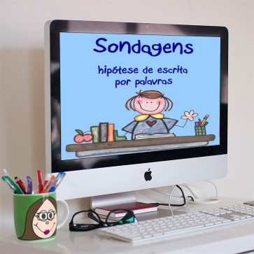 Sondagens - hipótese de escrita - palavras