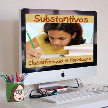 Substantivos - classificação e formação