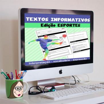 Textos informativos - edição ESPORTES