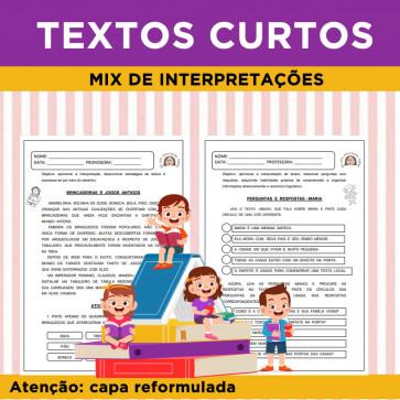 Mix de Interpretações - Textos Curtos