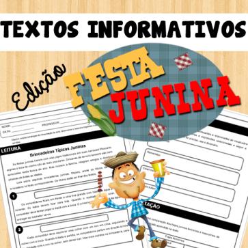 Textos informativos - Edição Festa Junina