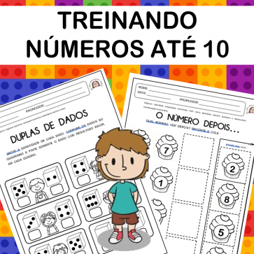 Treinando números até 10