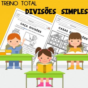 Treino Total - divisões simples