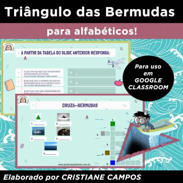 Triângulo das Bermudas - para Google Classroom
