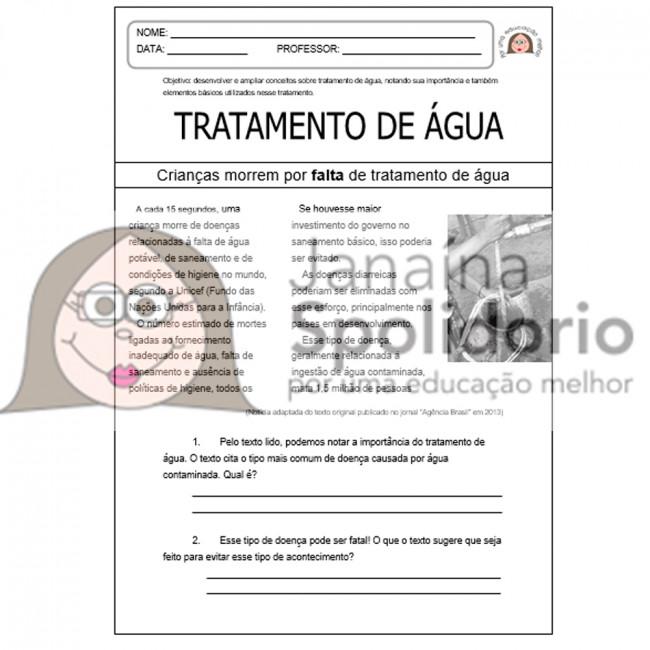 Conhecido Saneamento Básico | Janaína Spolidório BN42
