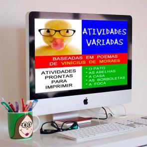Atividades baseadas nos poemas de Vinícius de Moraes