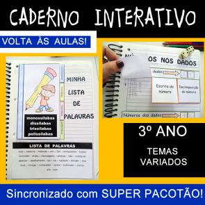 Caderno Interativo - 3º ano - VOLTA ÀS AULAS