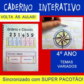 Caderno Interativo 4º ano - VOLTA ÀS AULAS