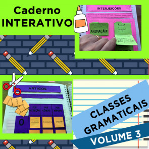 Caderno Interativo CLASSES GRAMATICAIS - Volume 3