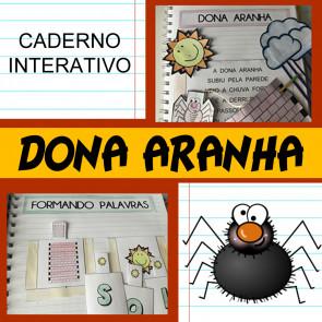 Caderno Interativo - Dona Aranha