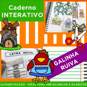 Caderno Interativo - Galinha Ruiva