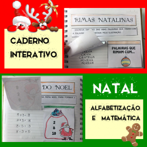 Caderno interativo - NATAL - alfabetização e matemática