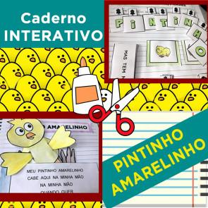 Caderno Interativo - PINTINHO AMARELINHO