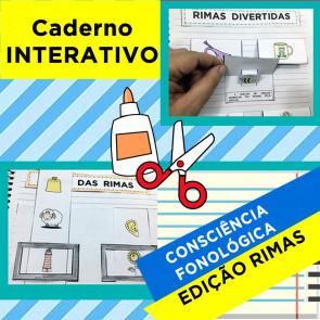 Caderno Interativo de Consciência Fonológica - RIMAS
