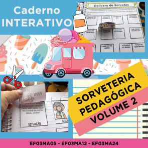 Caderno Interativo - SORVETERIA PEDAGÓGICA - MATEMÁTICA