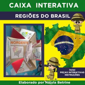Caixa Interativa REGIÕES DO BRASIL