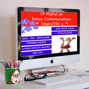 CD digital de datas comemorativas do segundo semestre