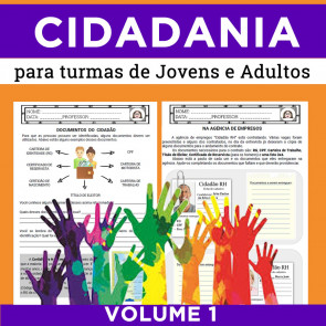 CIDADANIA - PARA EJA - VOLUME 1